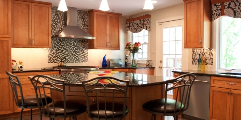 Kitchens island design